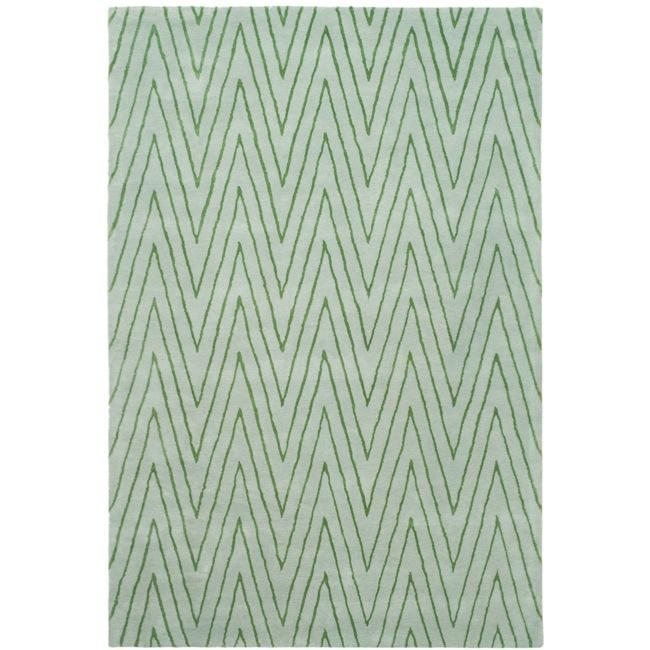 Thom Filicia Griffith Park Sea Glass N.Z. Wool Rug (8u0027 X ...