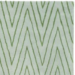 Thom Filicia Griffith Park Sea Glass N Z Wool Rug 8 X