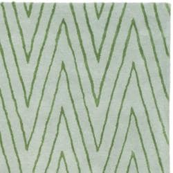 Thom Filicia Griffith Park Sea Glass N.Z. Wool Rug (8' x 10')
