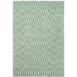 Thom Filicia Griffith Park Sea Glass N.Z. Wool Rug - 8' x 10' - Thumbnail 0