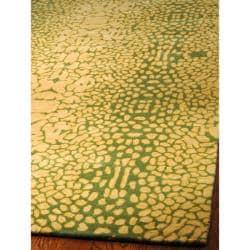Handmade Thom Filicia Senica Maize New Zealand Wool Rug (5' x 8') - Thumbnail 1