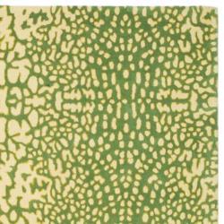 Handmade Thom Filicia Senica Maize New Zealand Wool Rug 5