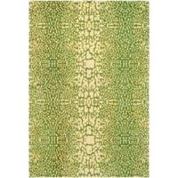 Handmade Thom Filicia Senica Maize N.Z. Wool Rug - 8' x 10'