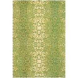 Handmade Thom Filicia Senica Maize N.Z. Wool Rug - 9' x 12' - Thumbnail 0