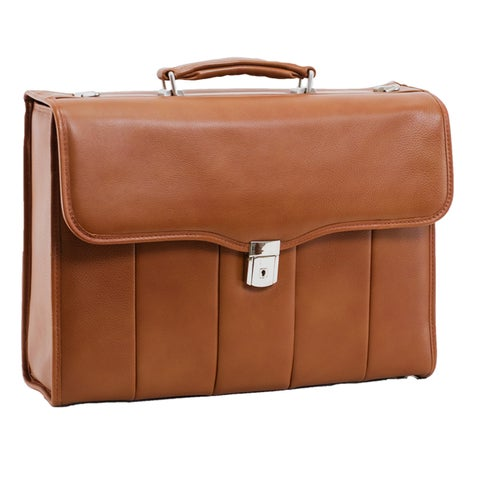 McKlein North Park Leather Executive 15.4-inch Laptop Briefcase