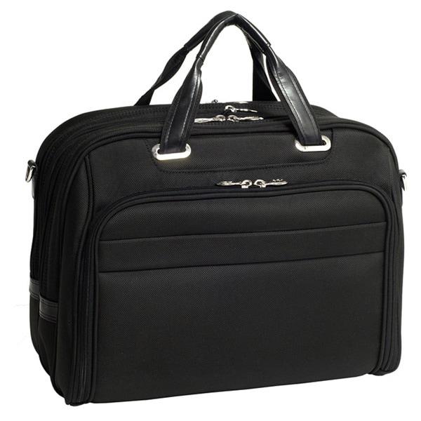 McKlein Springfield Nylon Checkpoint-friendly 17-inch Laptop Briefcase