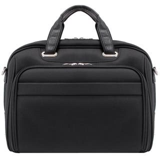 McKlein Springfield Nylon Checkpoint-friendly 17-inch Laptop Briefcase|https://ak1.ostkcdn.com/images/products/5281440/P13095786.jpg?impolicy=medium
