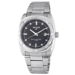 Hector H France Men's 'Fashion' Black Dial Watch