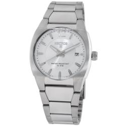 Hector H France Men's 'Fashion' Stainless-Steel Watch with Quartz-Movement