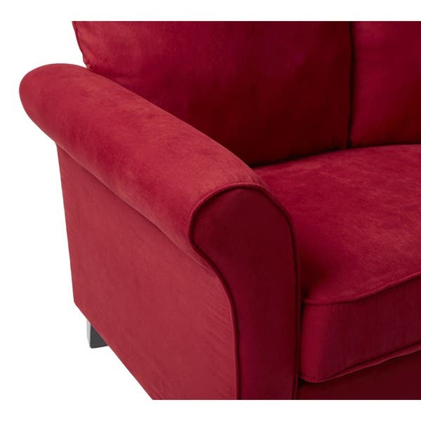 Shop Handy Living Provant SoFast Flared Arm Crimson Red ...