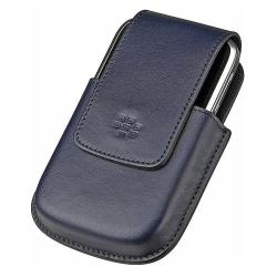 BlackBerry Bold Blue Leather Swivel Holster - Thumbnail 1