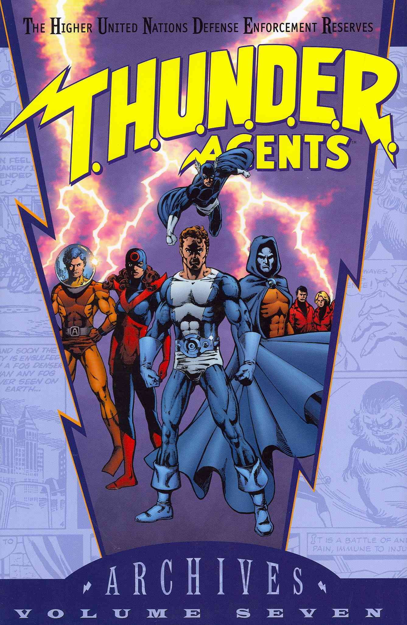 T.H.U.N.D.E.R. Agents Archives 7 (Hardcover)