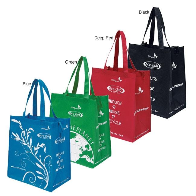 Traveler's Club 15-in EZ Clip-n-Shop Tote Bag (Case of 48)