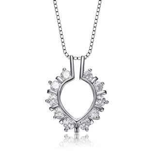 Collette Z Sterling Silver Cubic Zirconia Necklace
