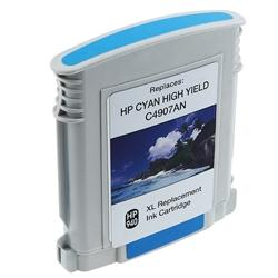 Insten Cyan Ink Cartridge HP 940XL C4907AN/ C4903AN for HP OfficeJet Pro 8000/ 8500 All-in-One - Thumbnail 2