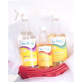 EcoDaisy Picasso Trio Dish Laundry and Multipurpose Cleaners