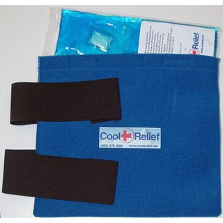 Cool Relief Soft Gel Knee Ice Wrap