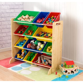 KidKraft Sort It and Store It Bin Unit