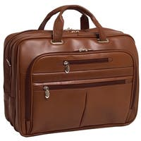 McKlein Rockford Leather Checkpoint-friendly 17-inch Laptop Briefcase