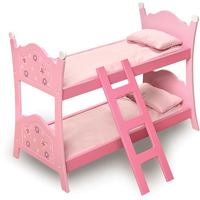 Badger Basket Pink Doll Bunk Bed - Thumbnail 0