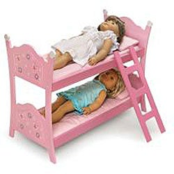 Badger Basket Pink Doll Bunk Bed - Thumbnail 1