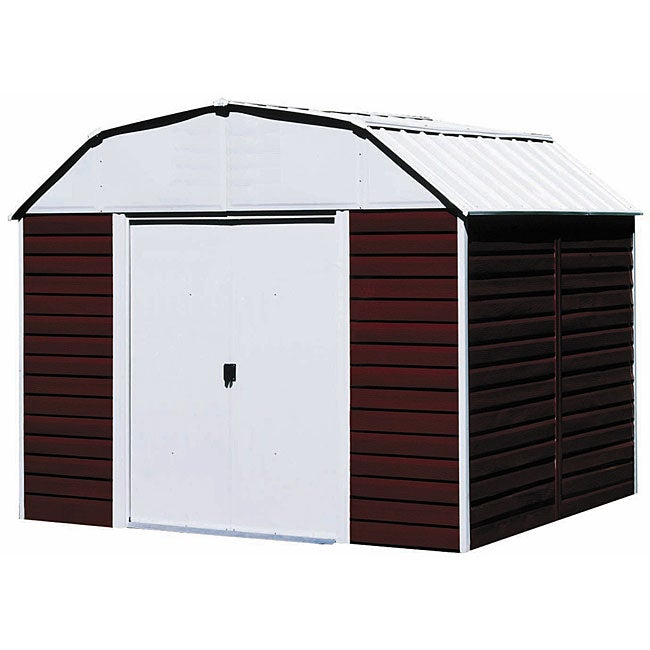 Arrow Red 10 x 8 Barn Steel Shed