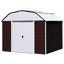 Arrow Red Barn Steel Shed, 10 x 8
