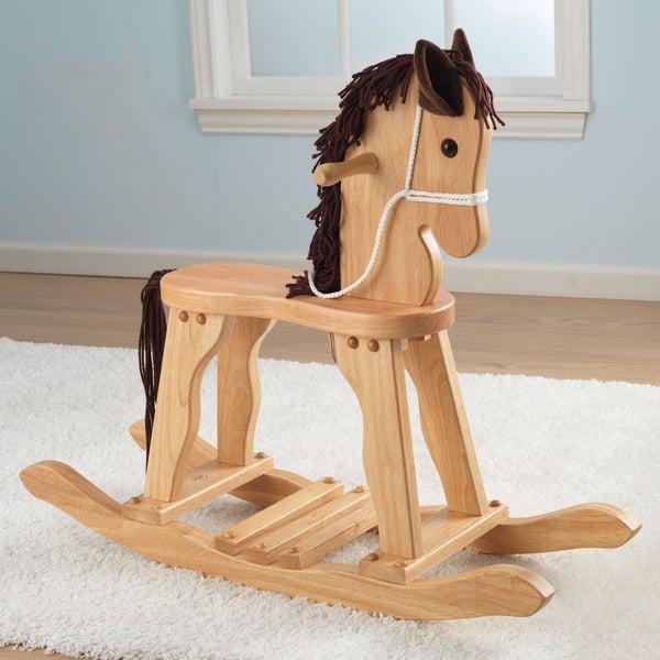KidKraft Natural Derby Rocking Horse