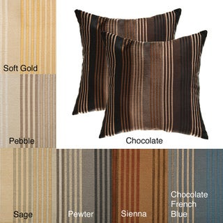 Jaipur Stripe Decorative Pillows (Set of 2)