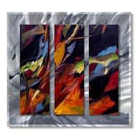 Ruth Palmer 'Colors Dance' Metal Wall Art