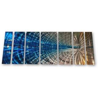 Ash Carl 'Winsome Web' 7-piece Metal Wall Art Set