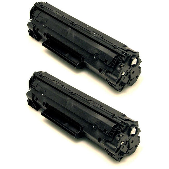 HP 35A CB435A Compatible Black Toner Cartridge (Pack of 2)