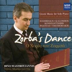 Dino Mastoyiannis - Zorba's Dance: Greek Music for Solo Piano