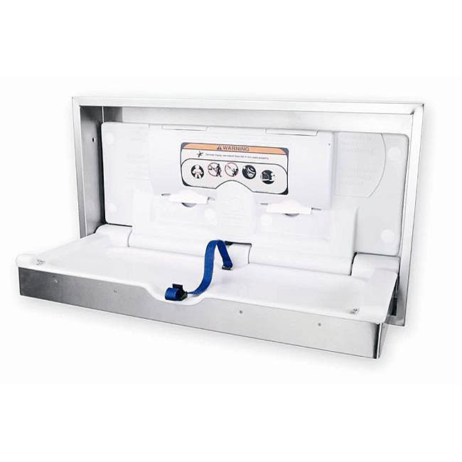Surface Mounted Stainless Steel (Silver) Changing Station...