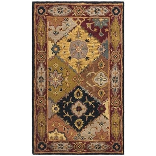 Safavieh Handmade Heritage Traditional Bakhtiari Multi/ Red Wool Rug (3' x 5')