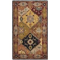 Safavieh Handmade Heritage Traditional Bakhtiari Multi/ Red Wool Rug - multi - 3' x 5'