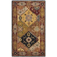 Safavieh Handmade Heritage Traditional Bakhtiari Multi/ Red Wool Rug - 3' x 5'