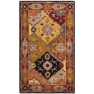 Safavieh Handmade Heritage Traditional Bakhtiari Multi/ Red Wool Rug (4' x 6')