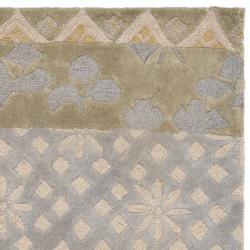 Safavieh Handmade Rodeo Drive Bohemian Collage Multicolored Wool Runner (2'6 x 14') - Thumbnail 1