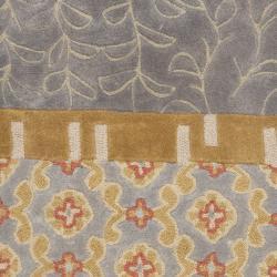 Safavieh Handmade Rodeo Drive Bohemian Collage Multicolored Wool Runner (2'6 x 14') - Thumbnail 2