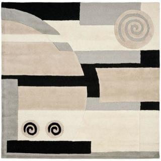 Safavieh Handmade Rodeo Drive Ralda Mid-Century Modern Abstract Wool Rug (8 x 8 Square - Assorted)