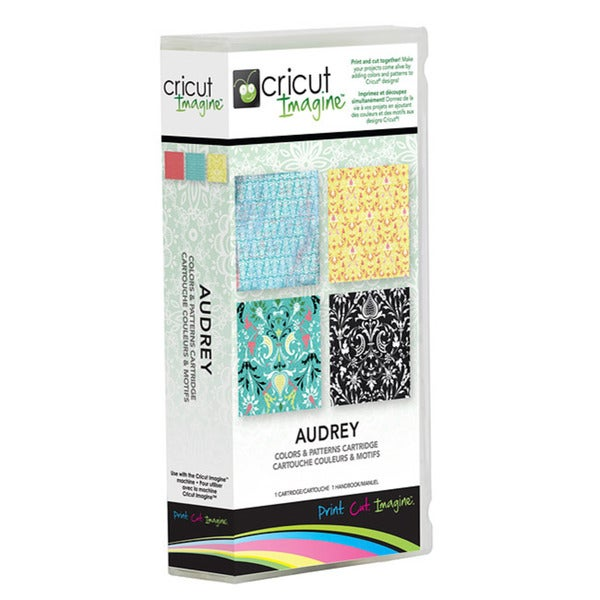 Cricut Imagine Audrey Colors and Patterns Cartridge