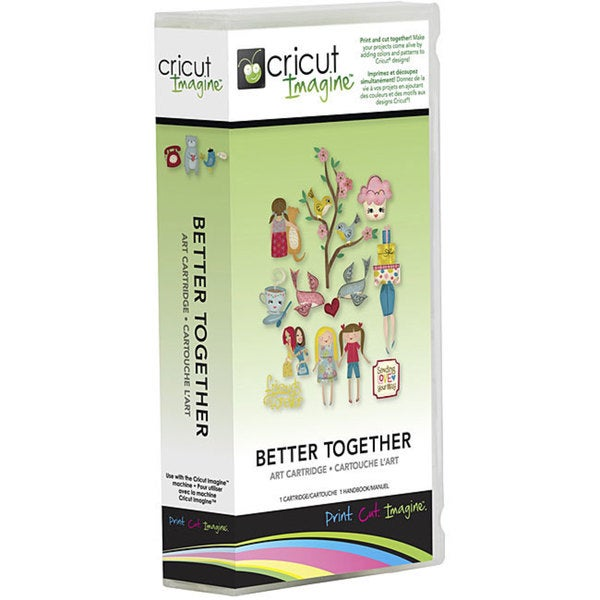 Cricut Imagine Better Together Cartridge