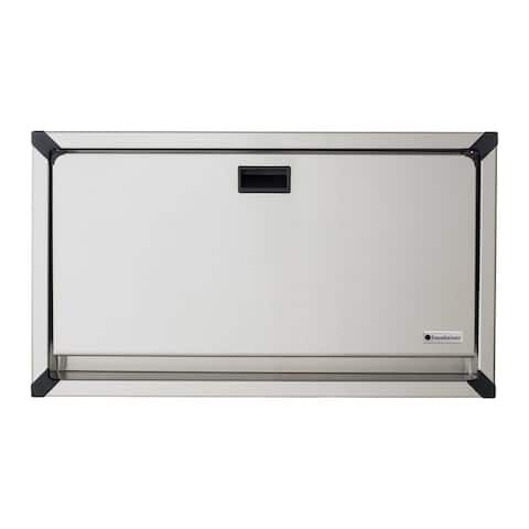 Foundations Recessed Stainless Horizontal Changing Station