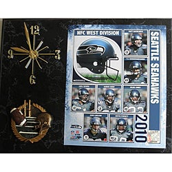 Seattle Seahawks 2010 Collectible Photo Clock
