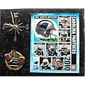 Carolina Panthers Clock