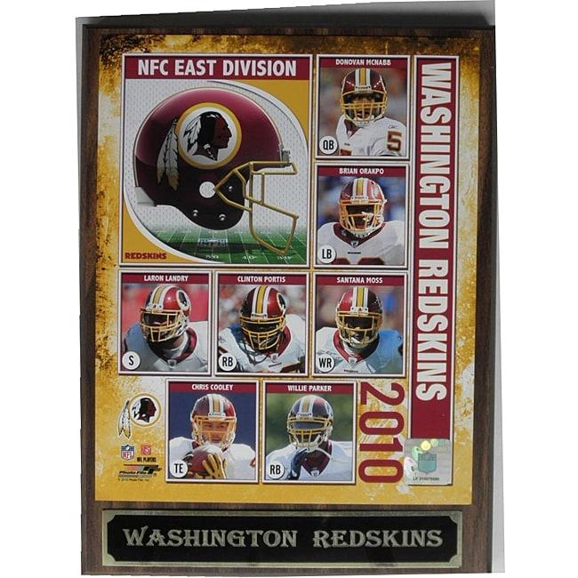 Washington Redskins Photo Plaque