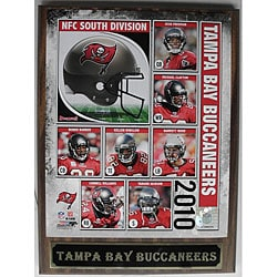 Tampa Bay Buccaneers 2010 Collectible Photo Plaque