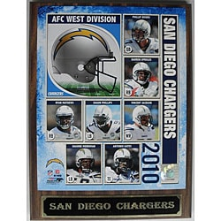 San Diego Chargers Photo Plaque