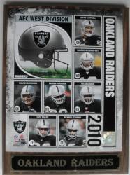 Oakland Raiders Photo Plaque